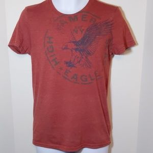 4/$25 American eagle red t-shirt.  Size XS